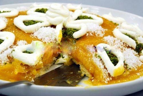 Kremalı Kayısı Pastası