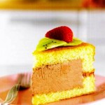 Meyveli ve Dondurmalı Doğumgünü Pastası