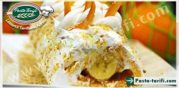 Portakallı Rulo Pasta