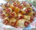 Çiçek Sosisli Börek