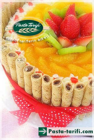 Karışık Meyveli Pasta