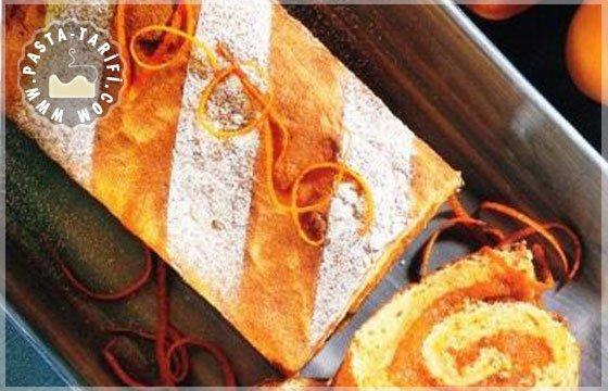 kayısılı rulo pasta