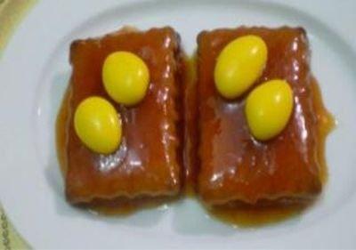 Karamelli Bisküvi Pastası