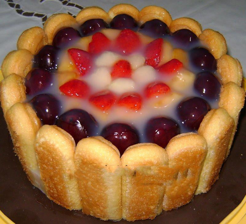 Meyveli Kedi Dili Pasta Tarifi