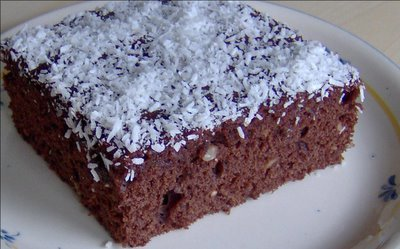 Fındıklı Ve Çikolatalı Kek Tarifi