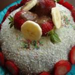 Kubbeli Meyveli Pasta Tarifi