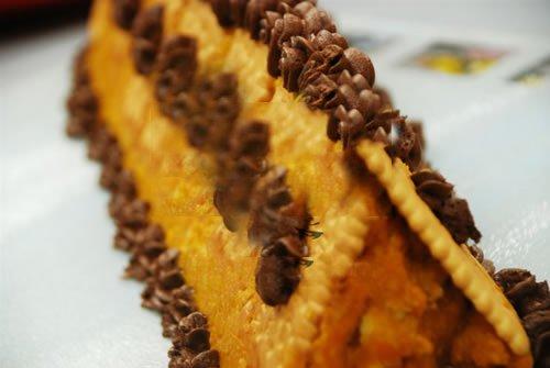 Muzlu Kabaklı Piramit Pasta Tarifi