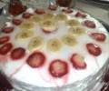 Kolay Meyveli Pasta