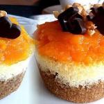 Balkabaklı Muffin Cheesecake Tarifi