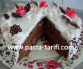 Kakaolu Doğum Günü Pastası