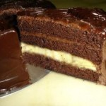 Bitter Çikolatalı Doğum Günü Pastası