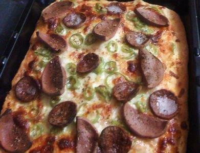Ev Yapımı Resimli Pizza