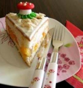 Şeftalili Yaş Pasta Tarifi