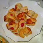 Kolay Sosisli Milföy Böreği