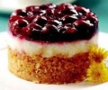 Vişneli Muhallebili Küçük Pasta