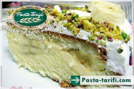 Kremalı Muzlu Pasta Tarifi