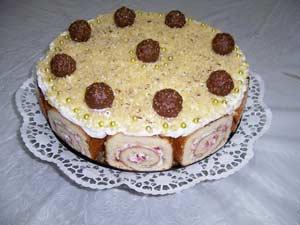 Fındıklı Çilekli Pasta