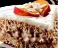 Kremalı Şeftalili Pasta