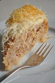 Kadayıflı Kek Tarifi