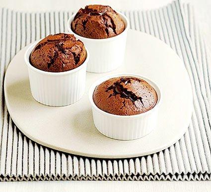Pratik Çikolatalı Sufle Tarifi
