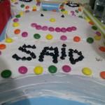 Kremalı Bonibonlu Doğum Günü Pastası