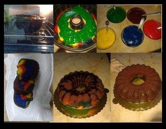 Renkli Kek Tarifi