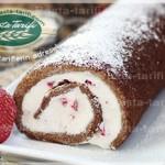 Çilekli Kakaolu Rulo Pasta Tarifi