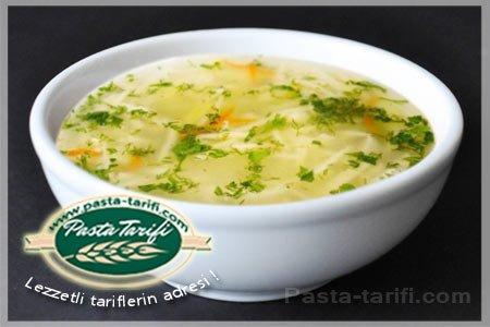 Tavuk Suyuna Şehriye Çorbası Tarifi