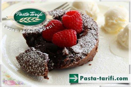 Eritilmiş Çikolatalı Kek