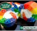 Gökkuşağı Rulo Pasta