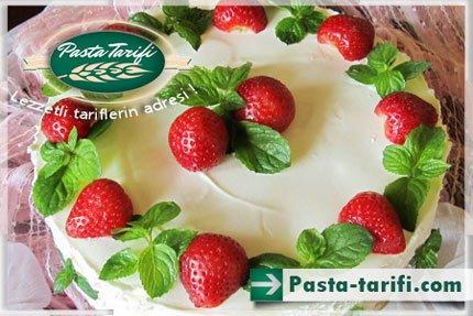 Hazır Kekten Yaş Pasta Yapımı