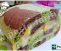 Çizgili Rulo Pasta Tarifi