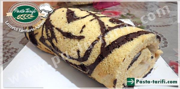 Muzlu Desenli Rulo Pasta
