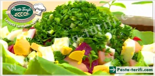 Pancarlı Kıbrıs Salatası Tarifi