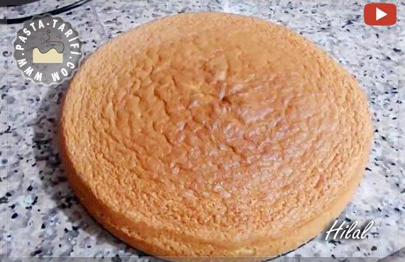 pandispanya pasta keki tarifi