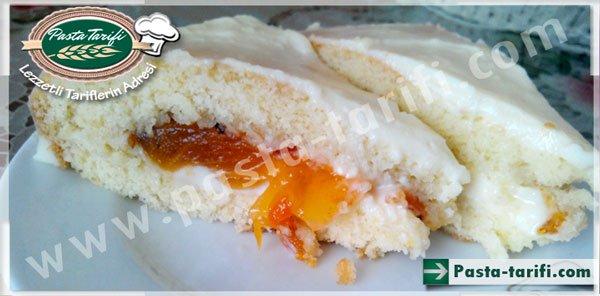 Trabzon Hurmalı Kremalı Pasta