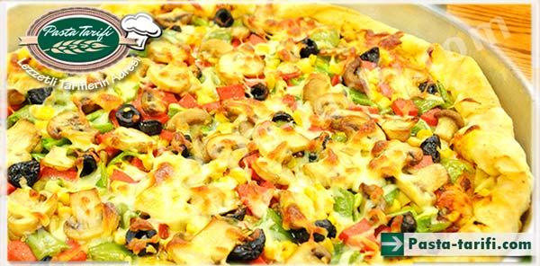 Hazır Yufkadan Karışık Pizza