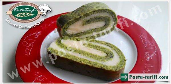 Ispanaklı Rulo Pasta