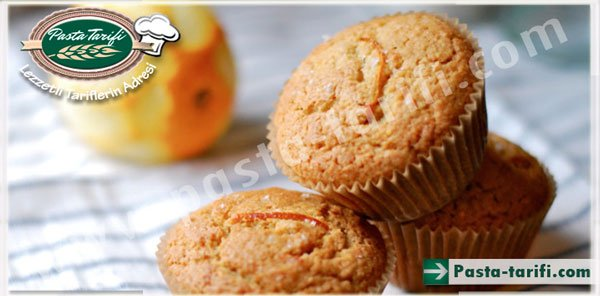 Portakallı Havuçlu Muffin Kek Tarifi