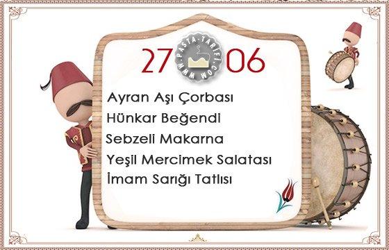 Ramazan İftar Menüsü 10