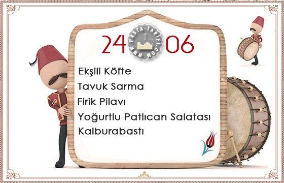 Ramazan İftar Menüsü 7