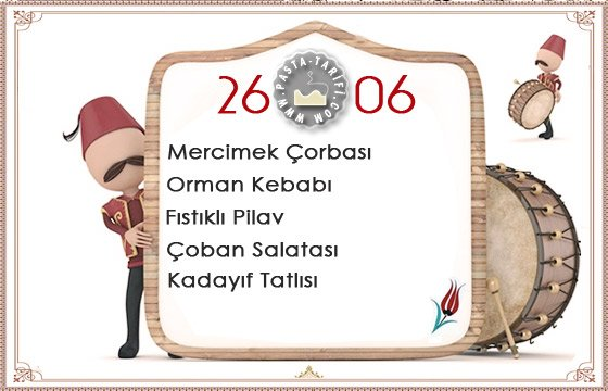 Ramazan İftar Menüsü 9