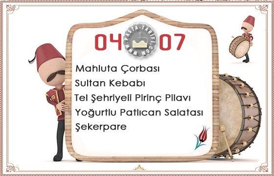 Ramazan İftar Menüsü 17