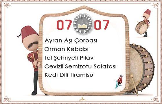 Ramazan İftar Menüsü 20