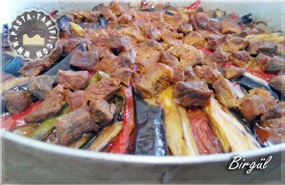 Pratik Patlıcan Kebabı