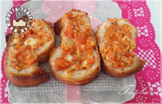 Peynirli Kıtır Ekmek Tarifi