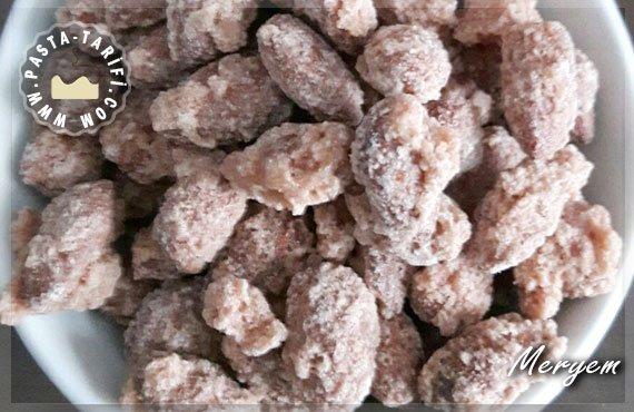 Kavrulmuş Şekerli Badem