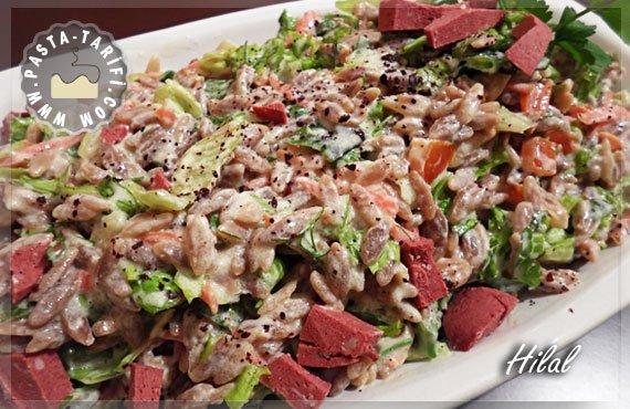 Şehriyeli Yoğurtlu Salata