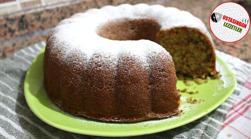 Havuçlu Cevizli Tarçınlı Kek | Havuçlu Kek Tarifi | Nefis Yemek Tarifleri