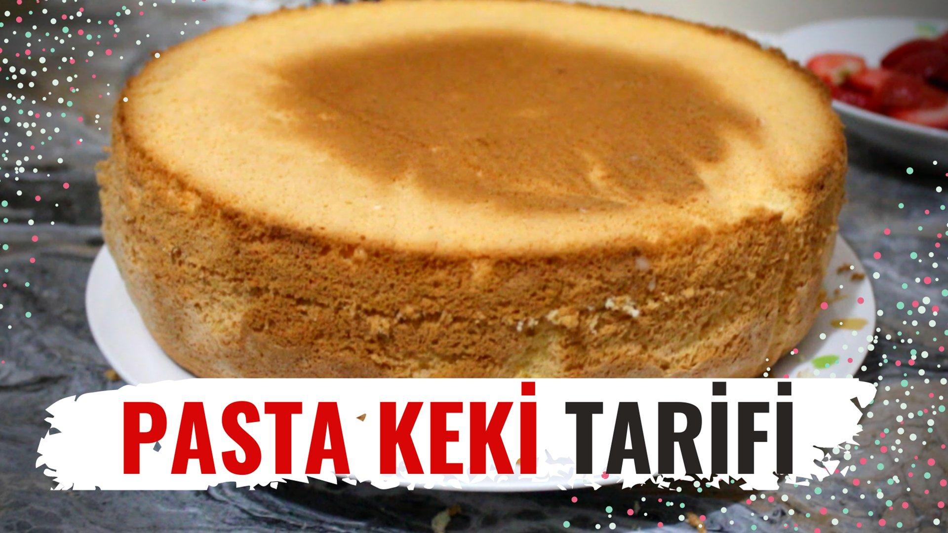 Pandispanya Pasta Keki Nasıl Yapılır? Tarifi ve Yapılışı